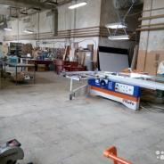 Продажа оборудованного цеха для производства мебели