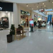 Рекламный бизнес в торговом центре.